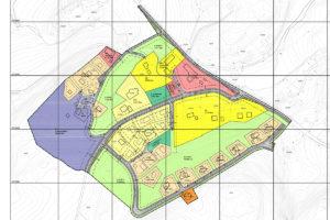 Boligtomter og hyttetomter i Råkvåg - plankart